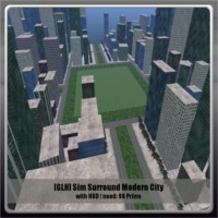 GLH Sim Surround Modern City